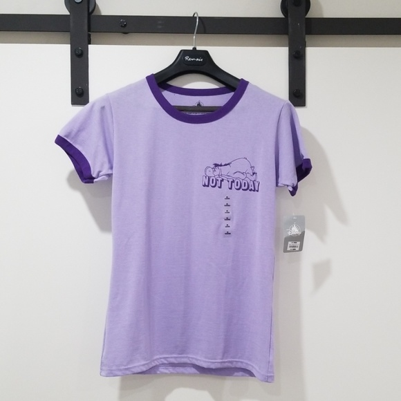 Disney Tops - Purple Eeyore Shirt